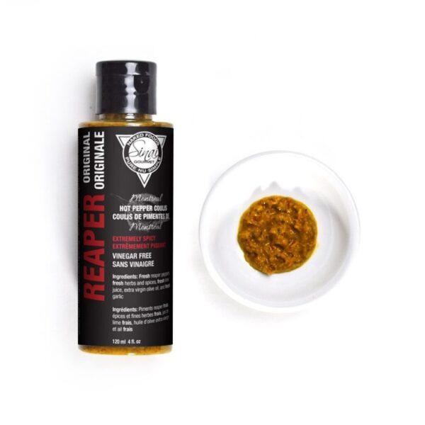 Reaper Original | Extreme Hot Sauce | Sinai Gourmet Hot Pepper Coulis