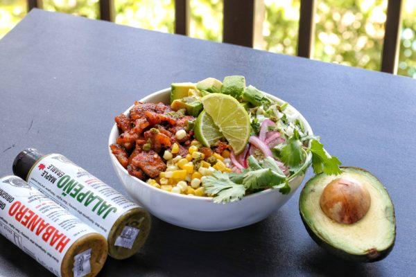 mexican bowl jalapeno habanero avocado