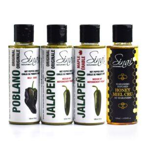Poblano Jalapeno Hot Honey Taster Kit