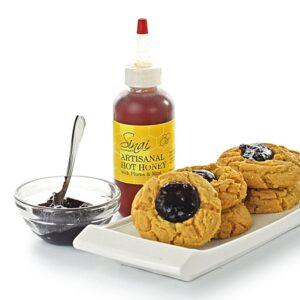 biscuits PB & J au miel artisanal