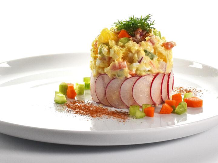 Salade de pommes de terre poivrée de My Buddy Richard