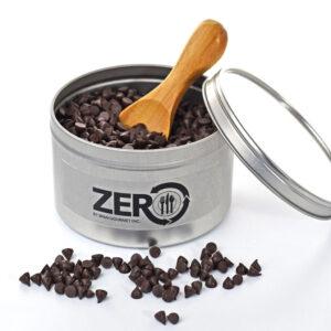 zéro pépite de chocolat végétalien