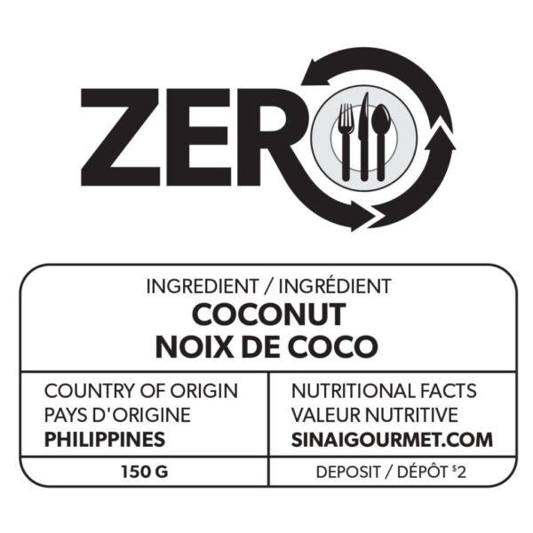 ZERO Coconut Label