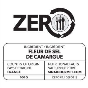 ZERO Fleur de Sel Label
